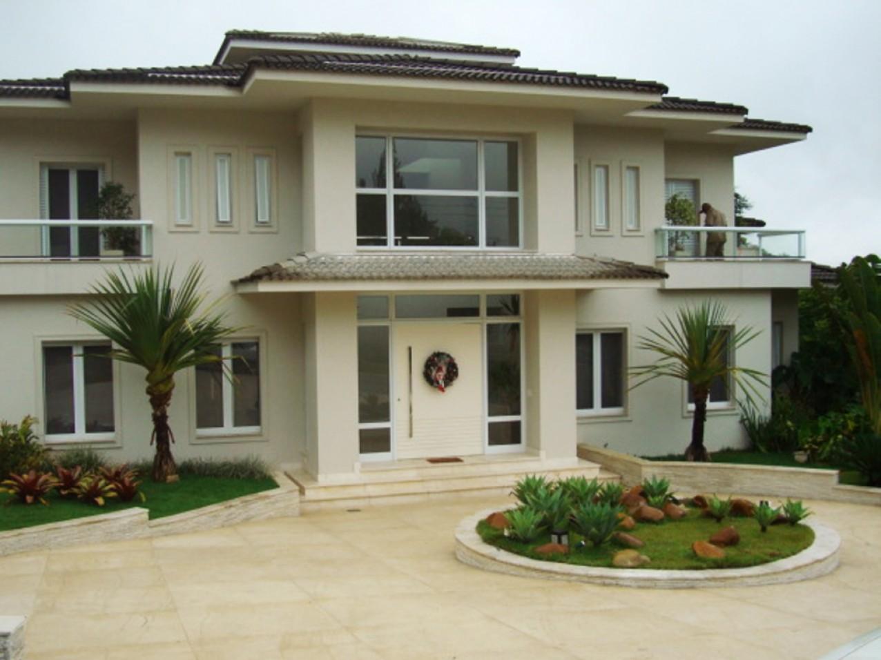 Obra residencial Alphaville - Frente