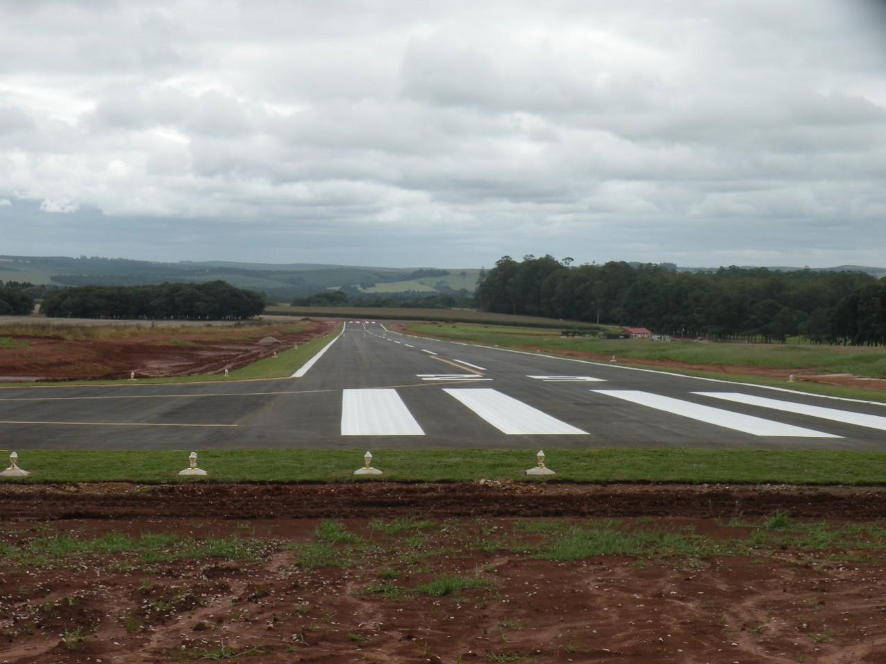 Obra especial - Aerodromo Particular - Pista de pouso