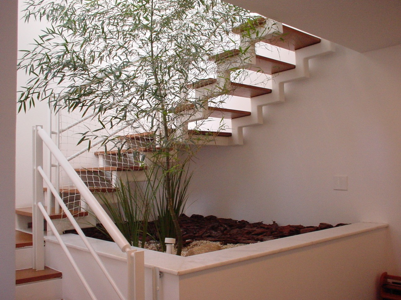Obra residencial Jardim Guedala - Escadaria