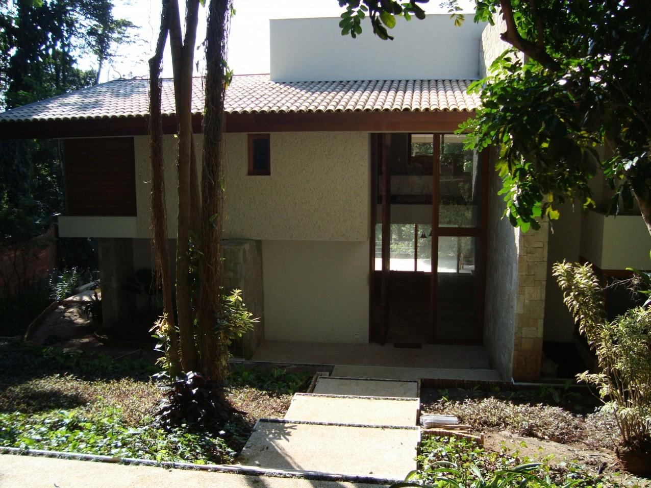Obra residencial Chácara Flora I - Entrada fundos