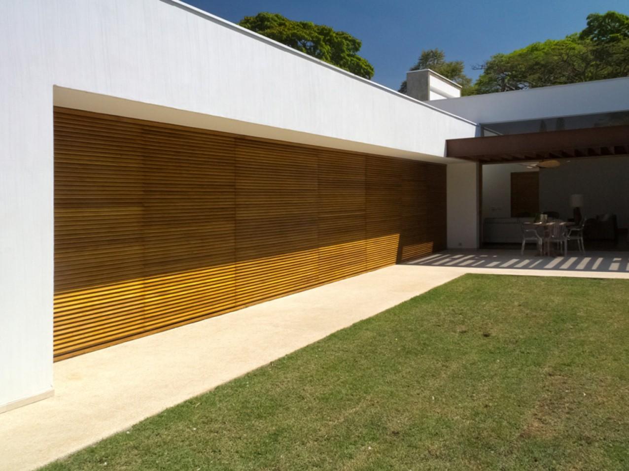 Obra residencial Pinheiros V - Garagem