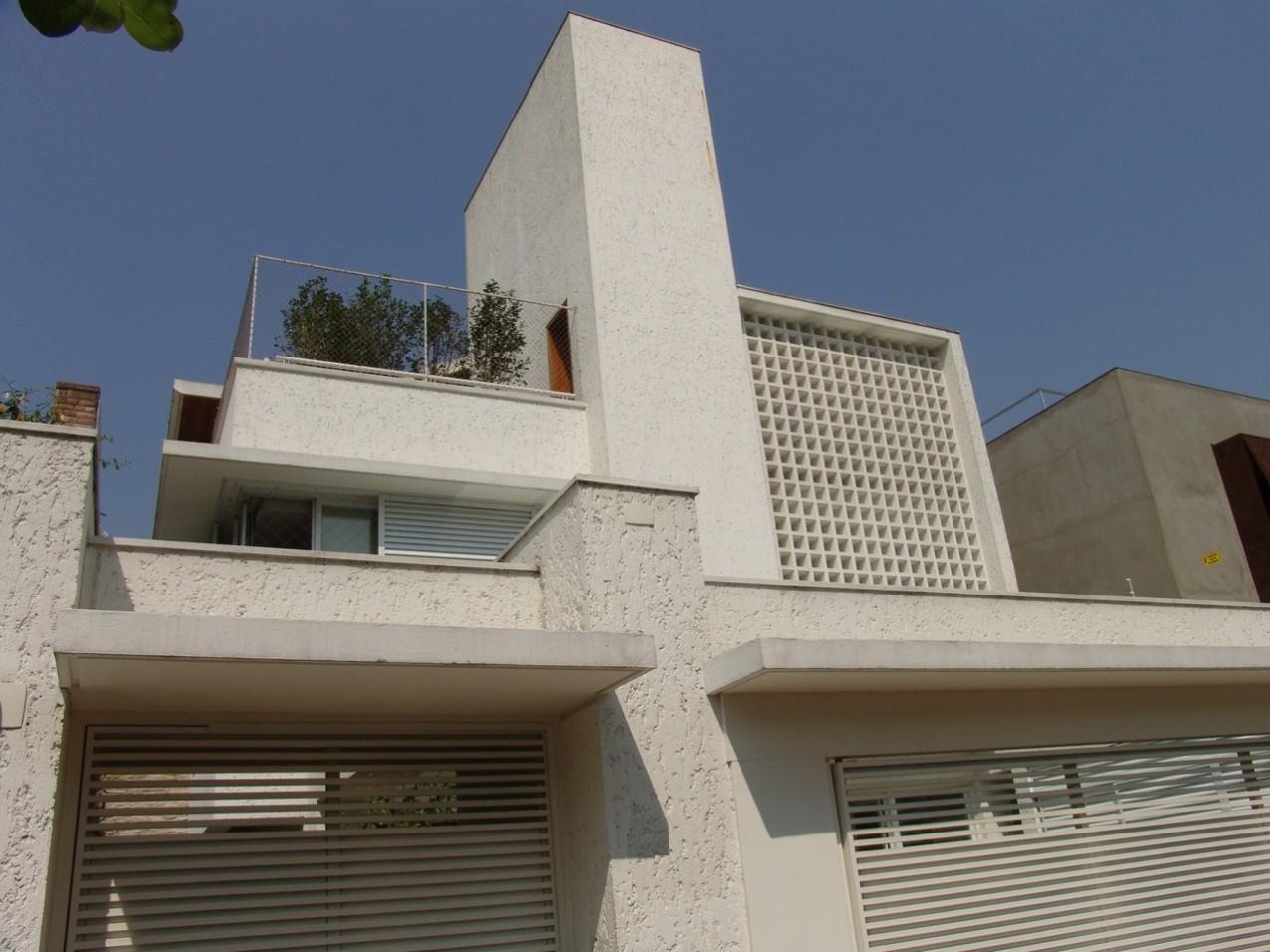 Obra residencial Pinheiros I - Fachada
