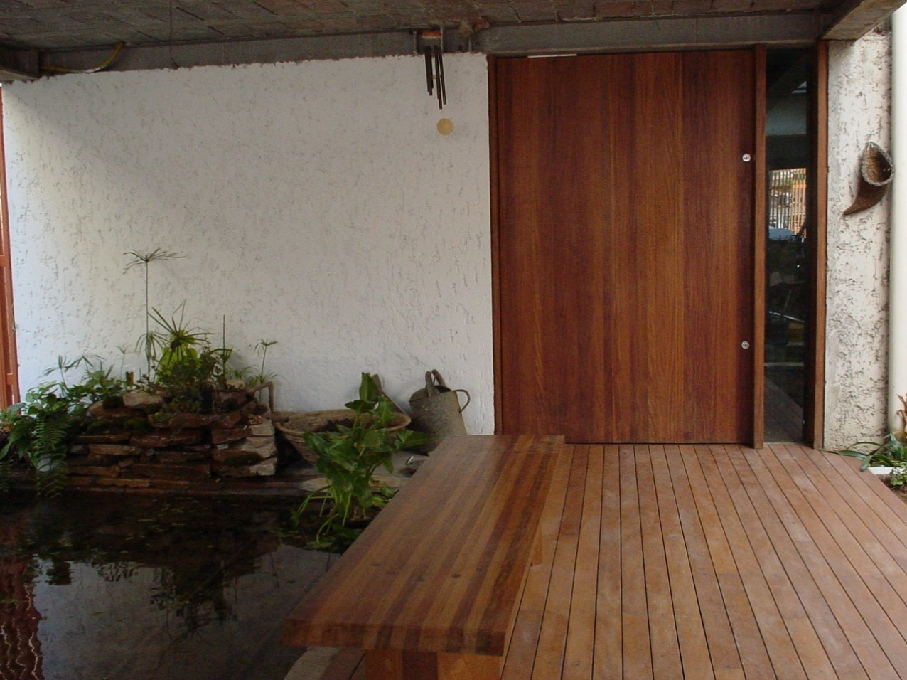 Obra residencial Vila Carmem - Entrada