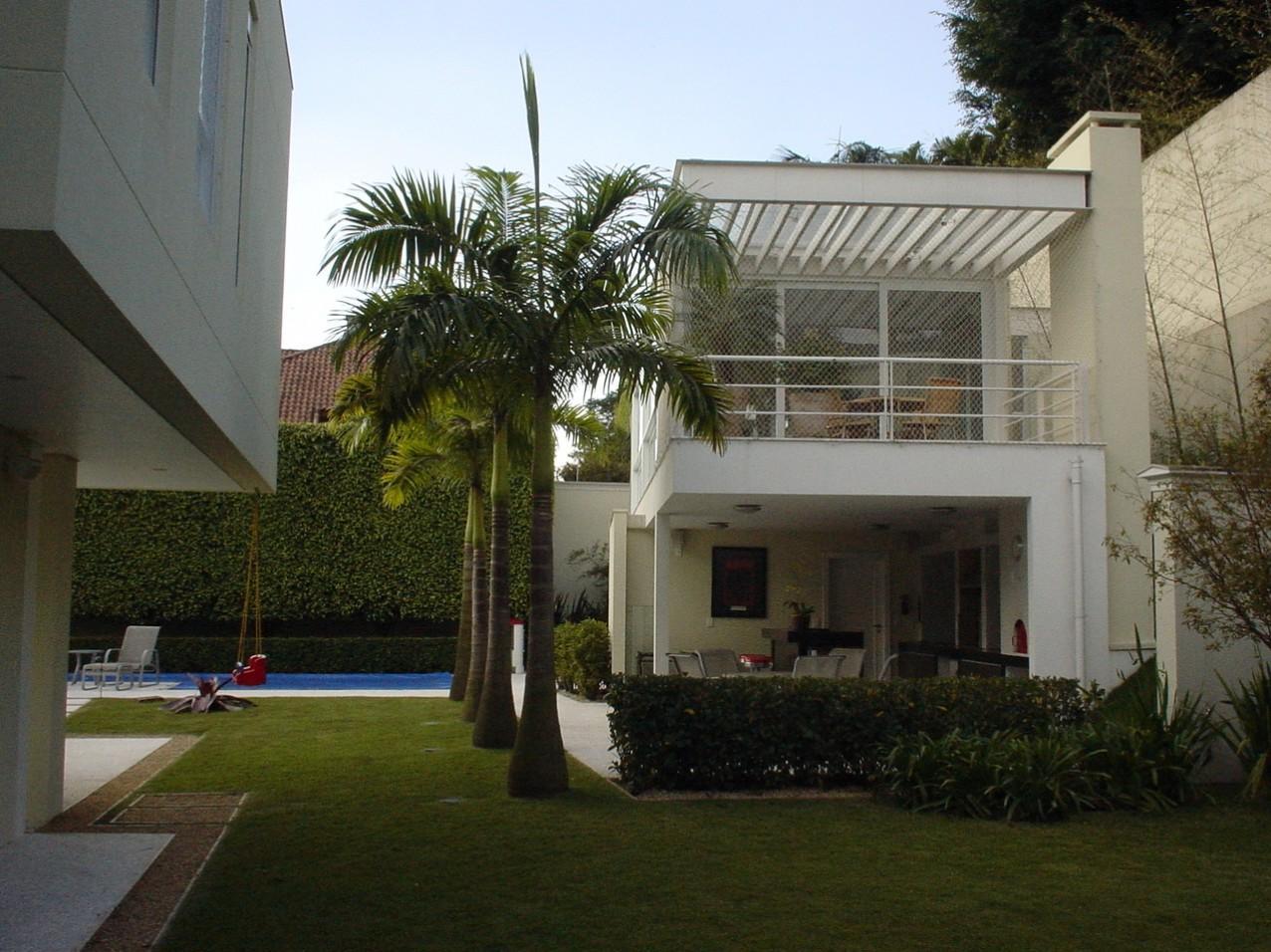 Obra residencial Jardim Guedala - Quintal