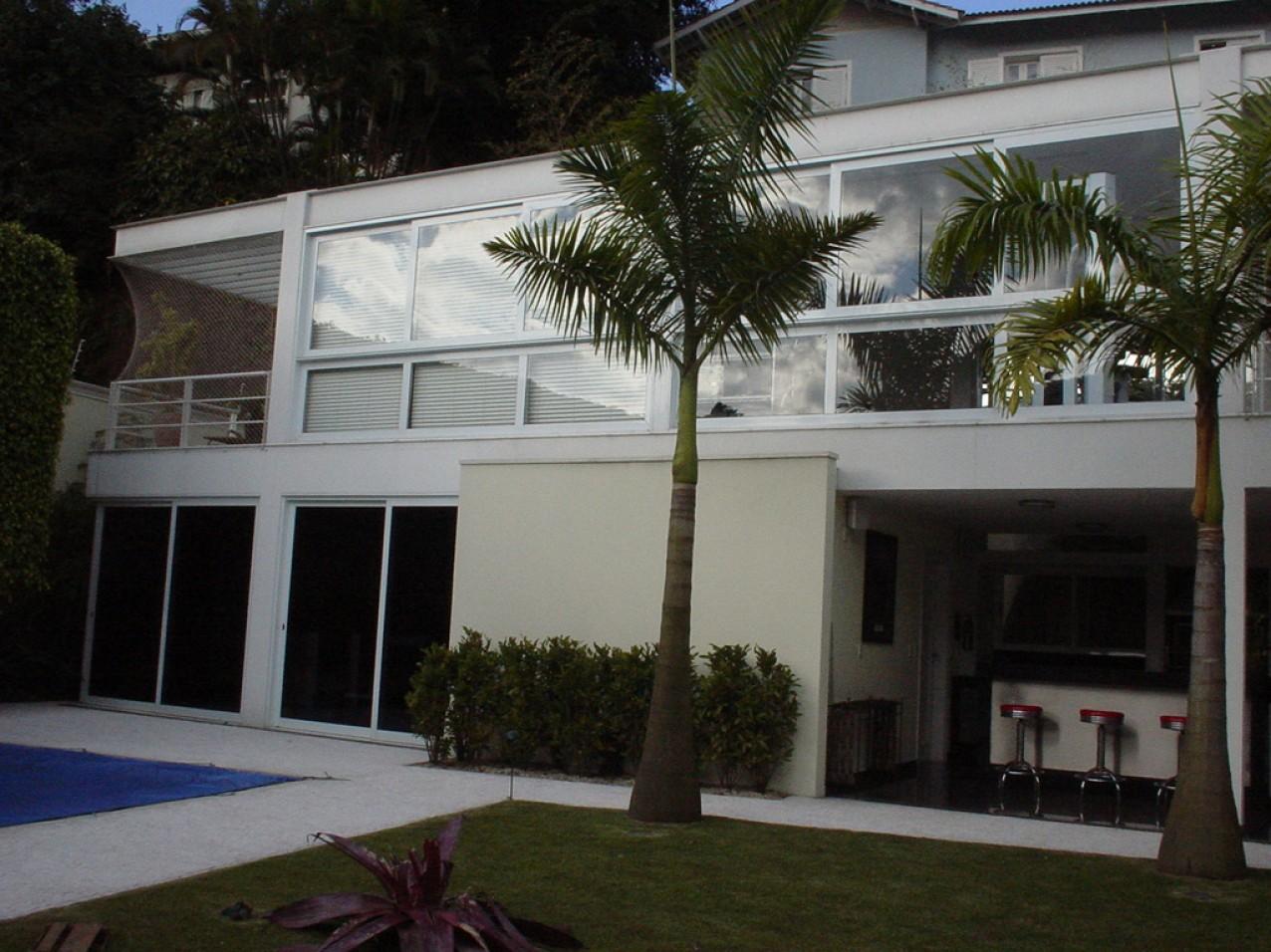 Obra residencial Jardim Guedala - Fachada