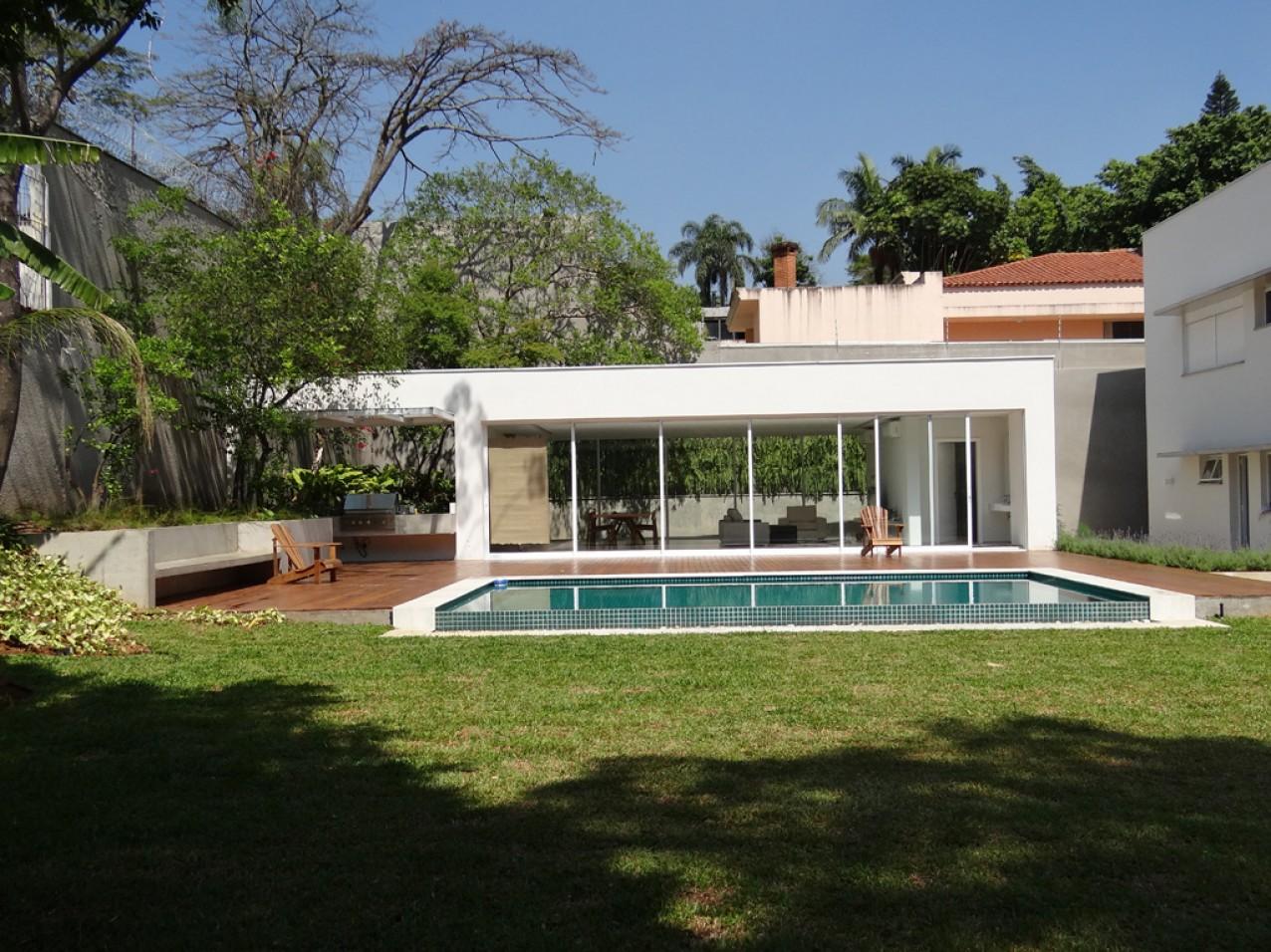 Obra residencial alto da Boa Vista IV - Quintal