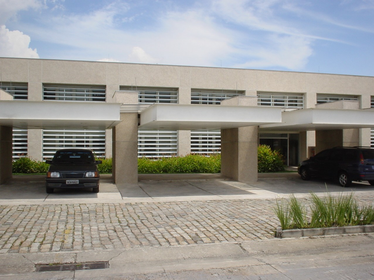 Obra industrial Durr do Brasil - Fachada