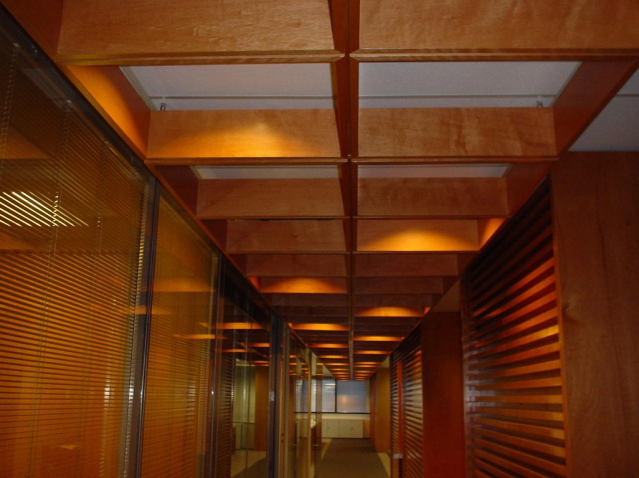 Obra corporativa Intercap - Iluminação