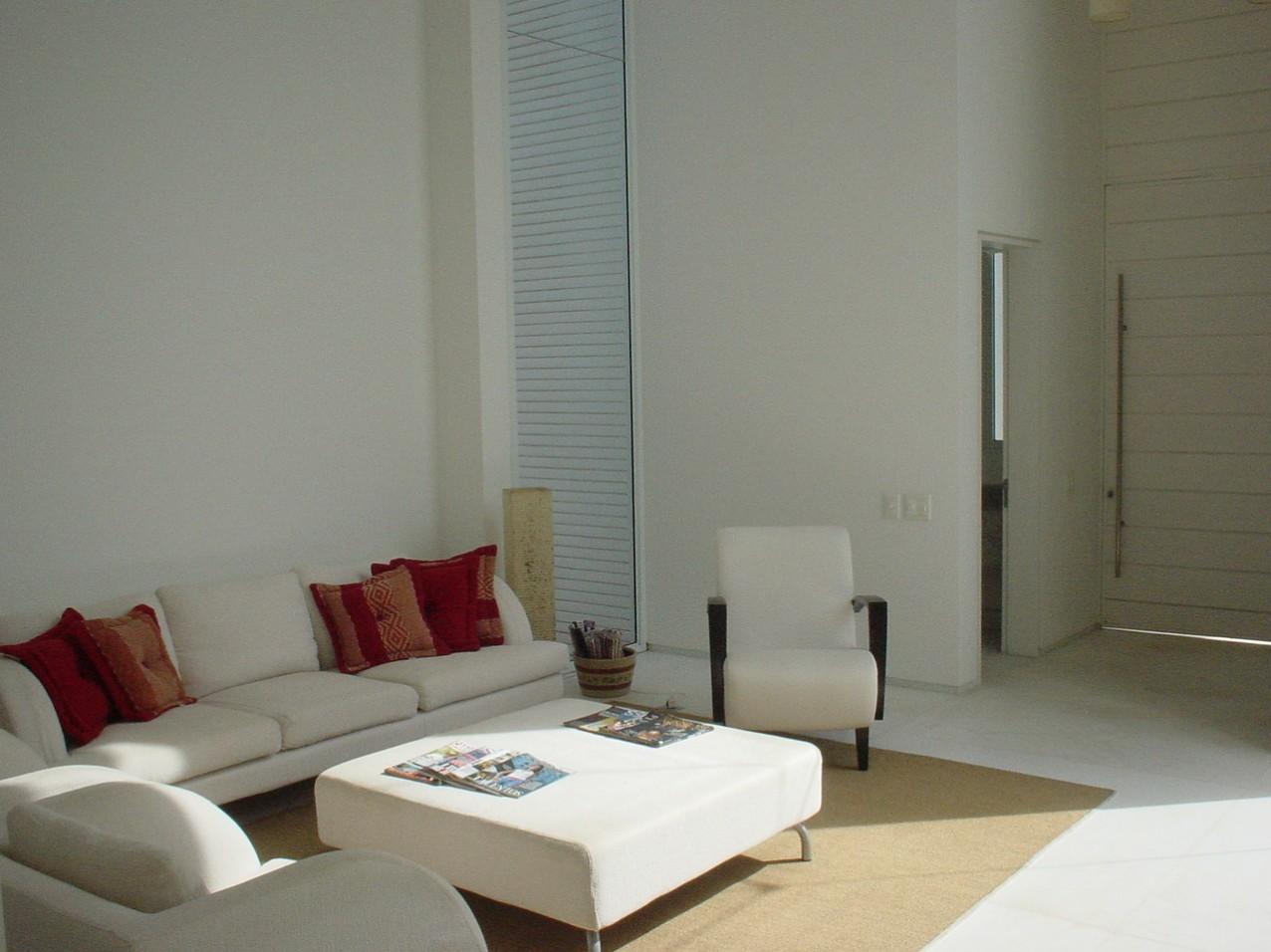 Obra residencial Riviera Sao Lourenco - Sala de estar