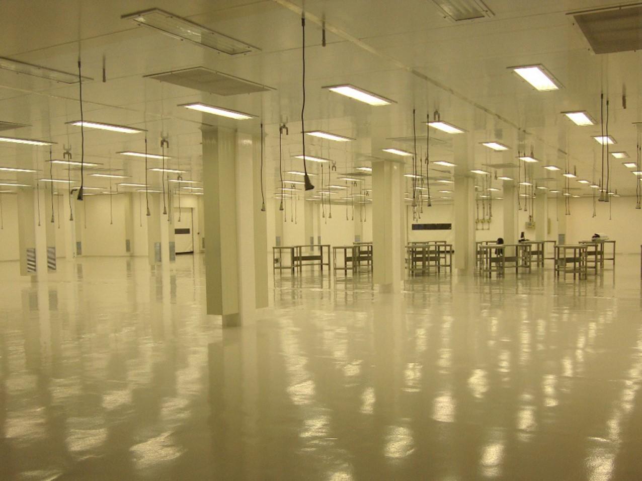 Obra industrial Alestis Aerospace - Fabrica de materiais compostos