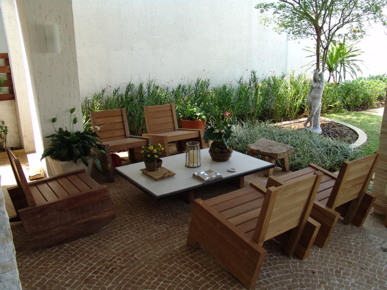 Obra residencial Pinheiros I - Varanda