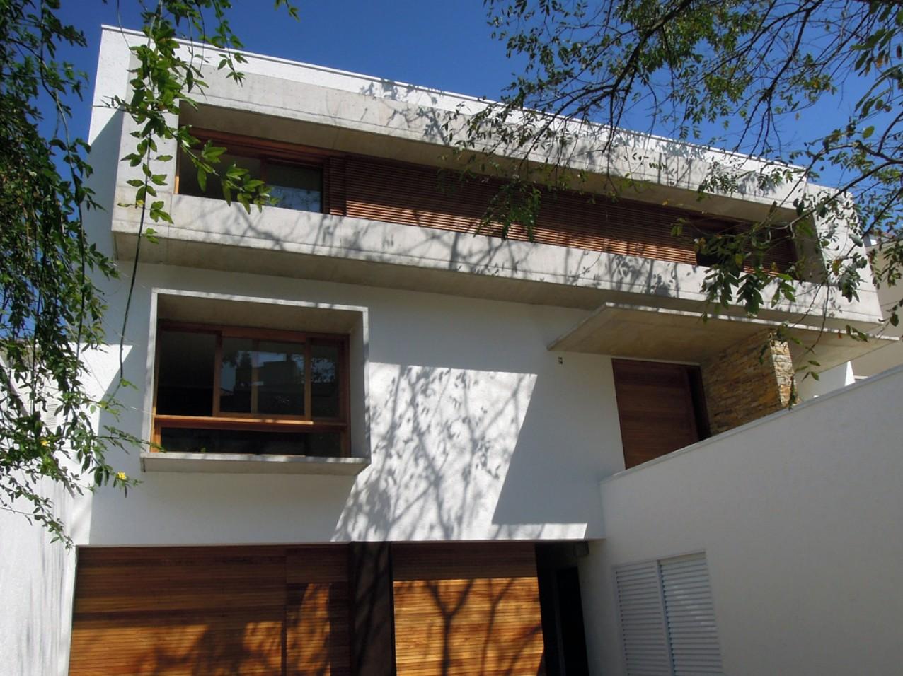 Obra residencial Morumbi V - Fachada