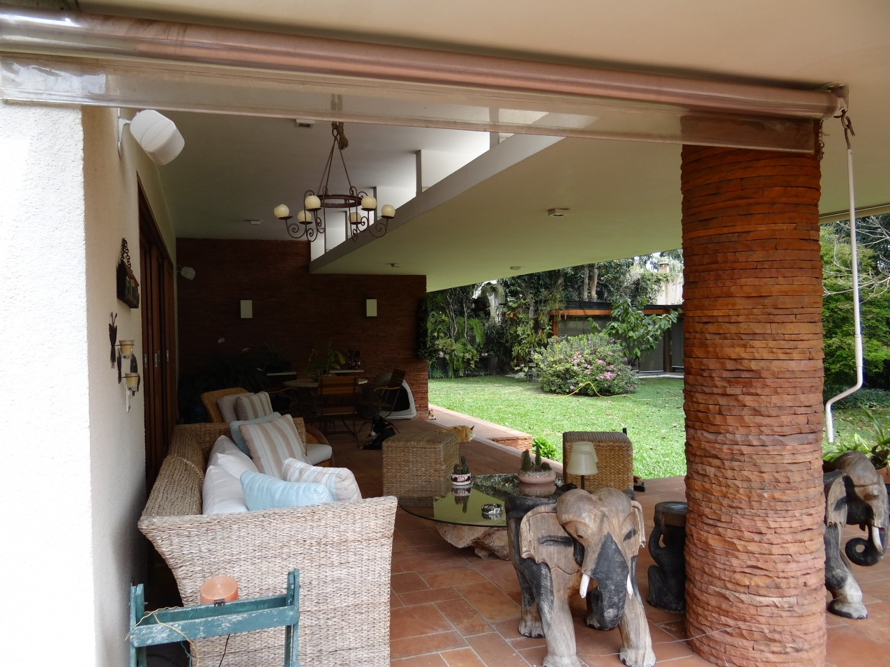 Obra residencial Alto da Boa Vista III - Quintal