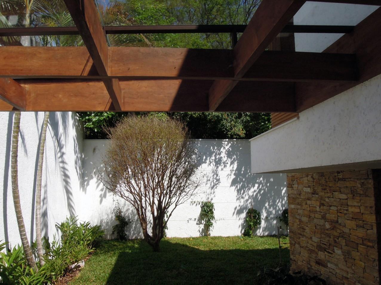 Obra residencial Morumbi V - Quintal