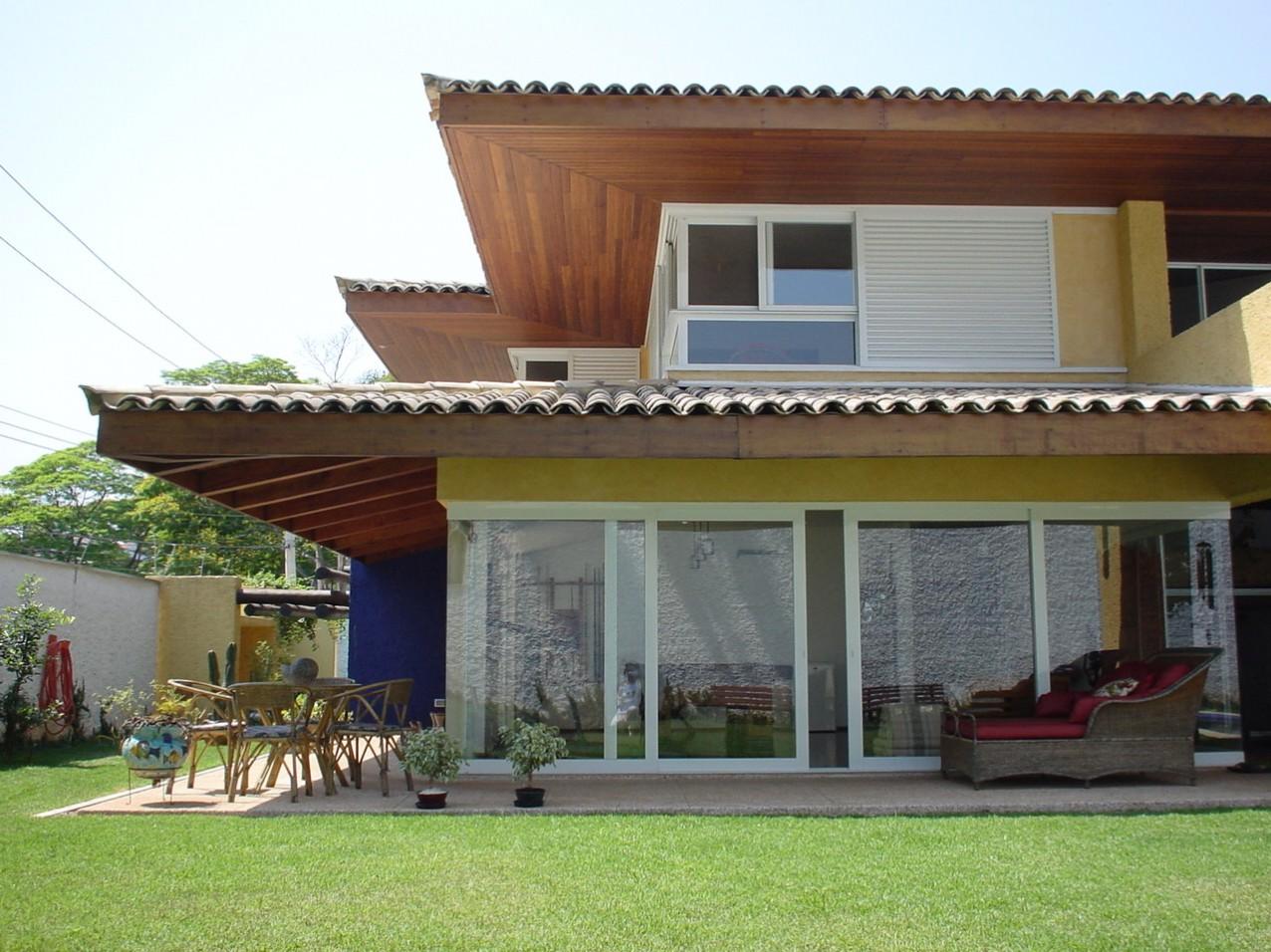 Obra residencial Morumbi I - Quintal