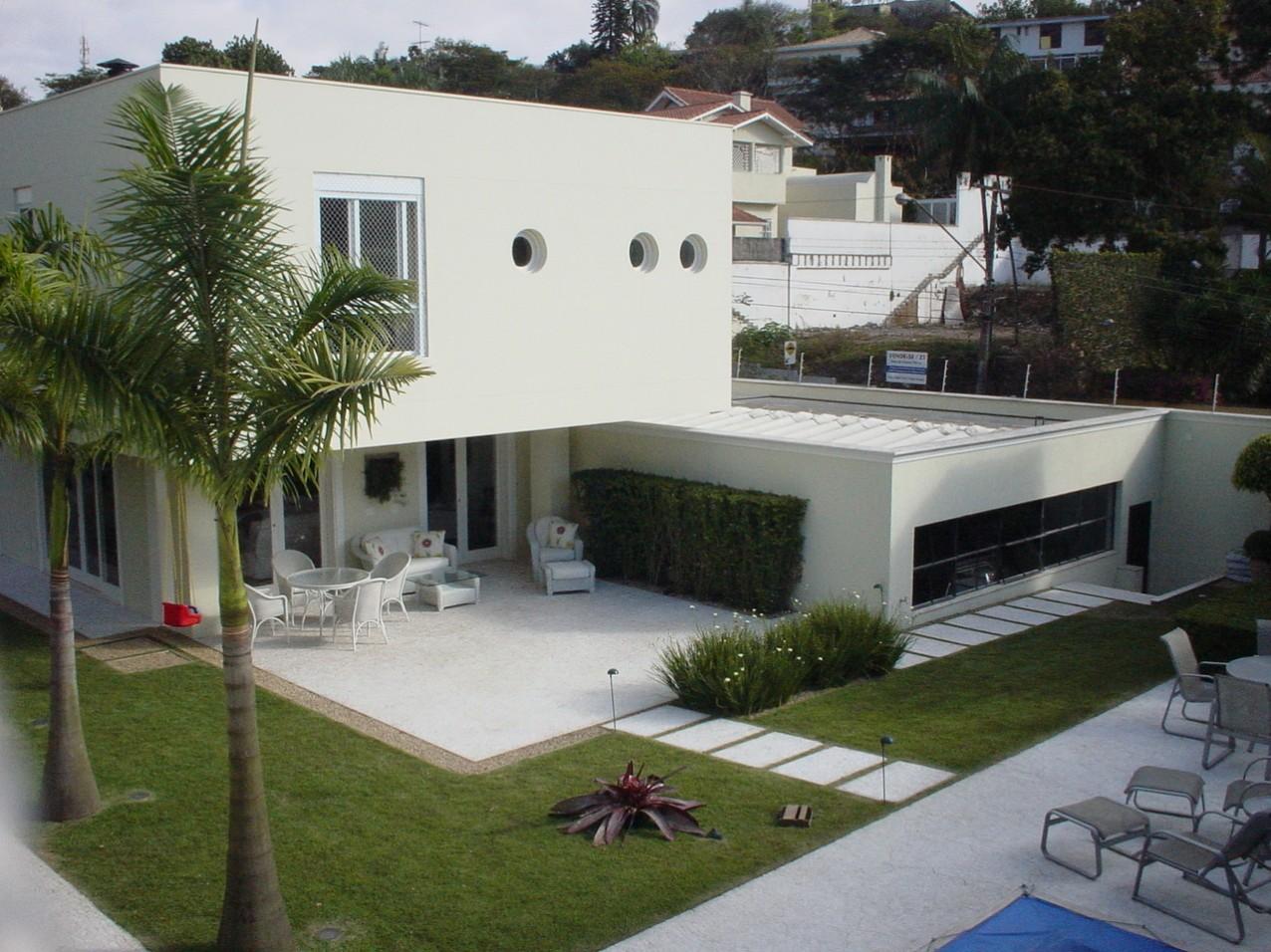 Obra residencial Jardim Guedala - Vista superior