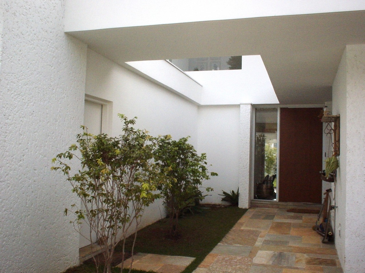 Obra residencial Pinheiros III - Corredor