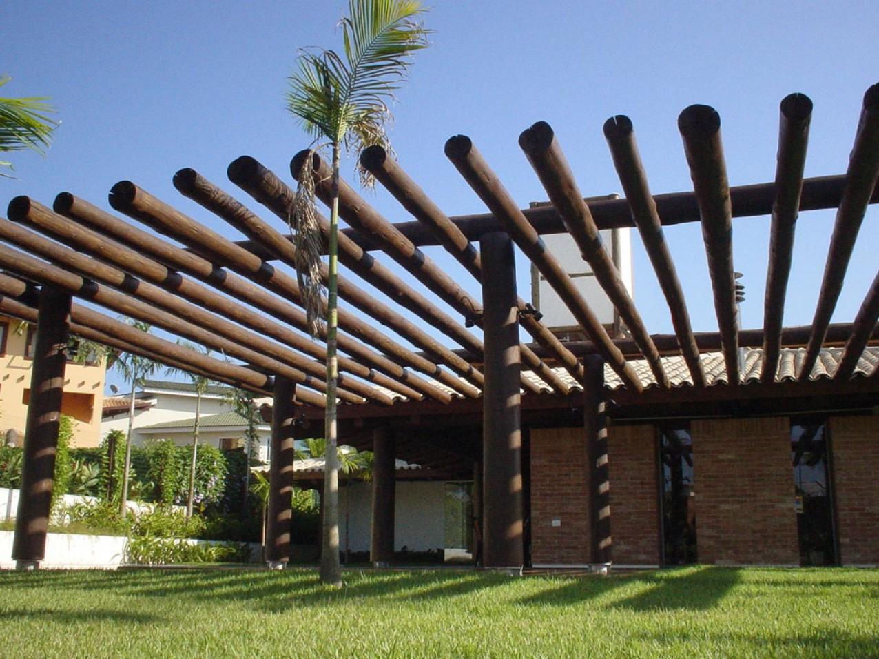 Obra residencial Bertioga - Varanda