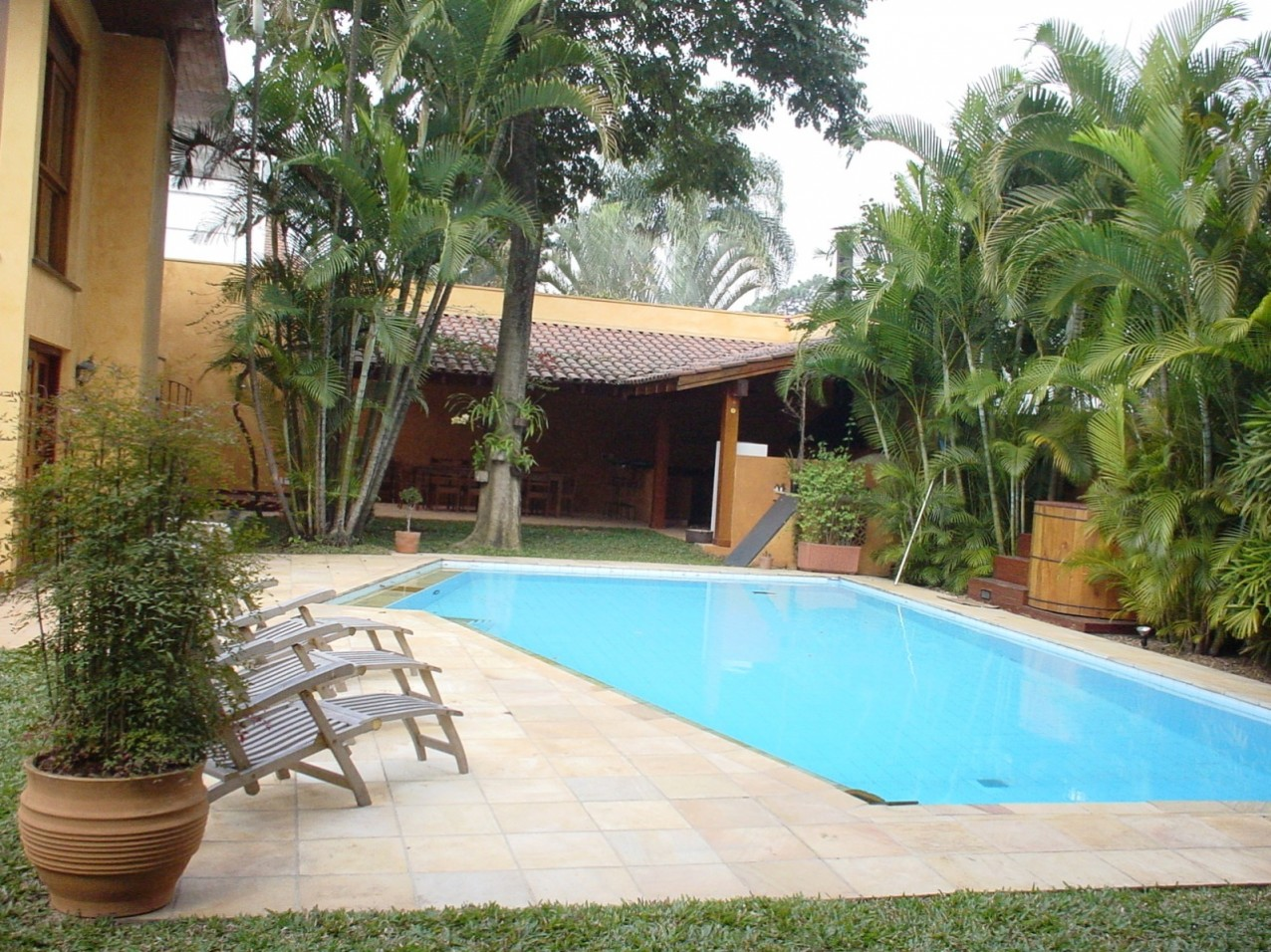 Obra residencial Pinheiros II - Piscina
